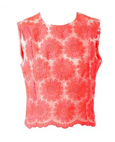 Simone Rocha Embroidered Silk-Blend Top at Browns