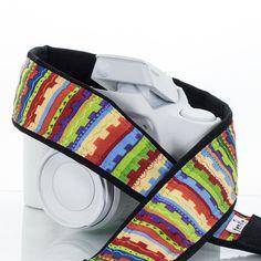 Camera Strap Southwest Stripe 086
