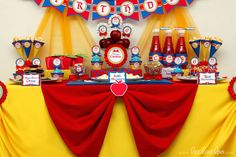 Snow White Birthday Party Ideas | Photo 4 of 50 | Catch My Party