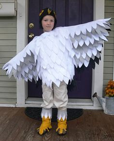 felt feathers costume - Google Search