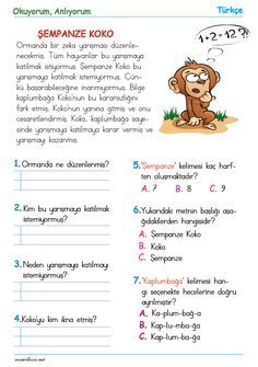 Learn Turkish Language, Planner Organization, Primary School, Worksheets, Children, Kids, Drama, Study, Activities