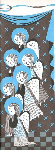 Mary Blair's angels More