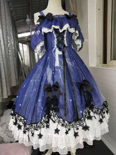 Old Fashion Dresses, Funky Dresses, 15 Dresses, Pretty Dresses, Vintage Dresses, Fashion Outfits, Cosplay Outfits, Dress Outfits, Dress Name