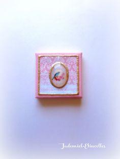 """Mini toile décorative série """" Un Chant d'Amour """" n°20 : Accessoires de maison par jademiel-etincelles"""
