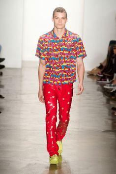 Jeremy Scott at New York Fashion Week Spring 2014 6f96f3840