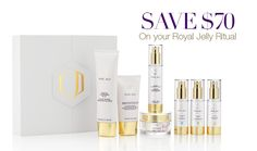 Ask me how to save $70 on your Royal Jelly Ritual 💜