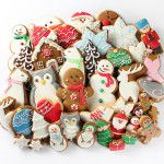 Our Full Holiday Cookie Collection A Couple Of Squares. Love these cookies Bernie! Santa Cookies, Holiday Cookies, Gingerbread Cookies, Square Inc, Christmas Holidays, Xmas, Holiday Places, Holiday Parties, Cookie Decorating