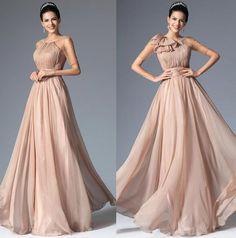 Rochii de ocazie de seara crem sampanie voal fin Fancy Wedding Dresses, Prom Dresses, Formal Dresses, Long Dresses, Sweet Dress, Coral Pink, Evening Gowns, Fashion Dresses, Glamour