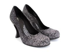 Fluevog Shoes - Item detail: Paris. Can't deside if you need black or white? Here's the answer! <3