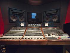 A landmark Neve A-1033 that recorded Elvis Presley helms Firefly's Studio A. (Photo Credit: Lori McNamara)