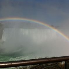 one of my most vivid memories from childhood was seeing the rainbows over Niagra Falls