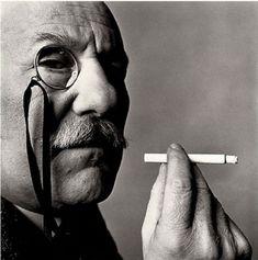 <> Barnett Newman by Irving Penn