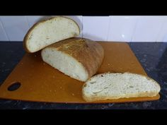 This is a lovely bread, with a chewy crust and a light and airy texture. Very tasty indeed, it is good for sandwiches, with soup or cheese etc. Basic Italian, Italian Bread, Bread Board, Bread Recipes, Sandwiches, Tasty, Cheese, Make It Yourself, Baking