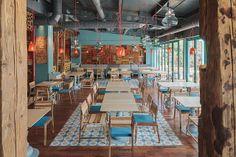 2013 yılında Bükreş'te açılan Divan Restoranı Corvin Cristian tarafından tasarlandı.