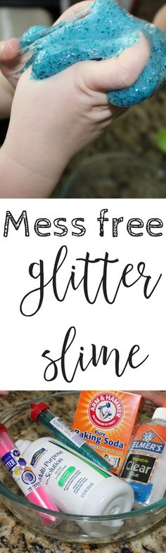 Mess free glitter slime! – The Ashmores Blog