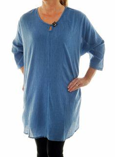 Chai Latte Plus Size Blue Cotton Gauze KeyHole Swing Top (0X) We Be Bop,http://www.amazon.com/dp/B00E5LB2LQ/ref=cm_sw_r_pi_dp_0Ng1sb0DBGJF42NB