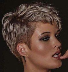 @kryptogirl7 #pixie #harcut #shorthair #h #s #p #shorthaircut #blondehair #shorthaircut #blondehair #b #hair #blondeshavemorefun
