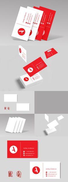 Business cards Mock Ups + Templates