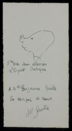 The Drawings of Jean-Paul Sartre