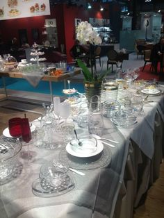 La tavola esclusiva secondo Vidivì - Fine dining for Vidivì #glass #table #luxury #vetro #tavola