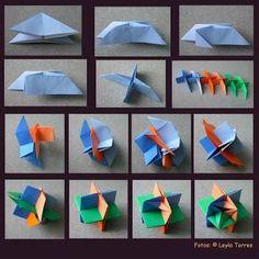 origami modular tutorial에 대한 이미지 검색결과