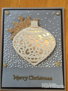 Stampin' Up! Delicate Ornament PPA268