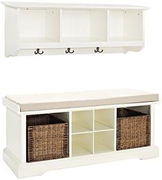 Crosley Furniture Brennan Entryway Storage Bench and Hang... https://www.amazon.com/dp/B00FRE3O8O/ref=cm_sw_r_pi_dp_x_EQehAbVPV13HY
