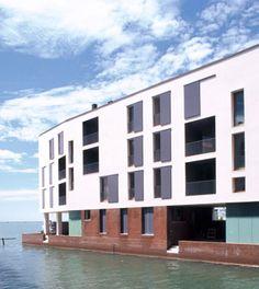 Cino Zucchi Architetti Edificio residenziale E1 Venezia
