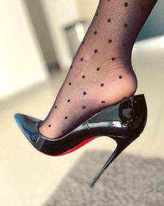 Thigh High Heels, Pink High Heels, Hot High Heels, Womens High Heels, Black Heels, Pantyhose Heels, Stockings Heels, Beautiful High Heels, Gorgeous Feet