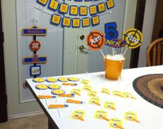 Etsy の NERF Birthday Party Banner by iCandyPartiez