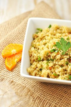 Yummy quinoa pilaf by Jennifer Leal @savorthethyme