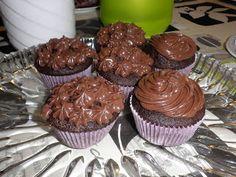 Nørkle Tøserne: Chokolade muffins :)