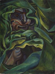Strangled by Growth, 1931 Emily Carr oil on canvas Collection of the Vancouver Art Gallery, Emily Carr Trust Tom Thomson, Canadian Painters, Canadian Artists, Emily Carr Paintings, Vancouver Art Gallery, Post Impressionism, Impressionist Paintings, Artist Art, Female Art