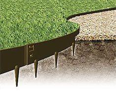 Stahlkanten für den Rasen