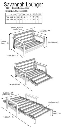 Futon Lounger Beds