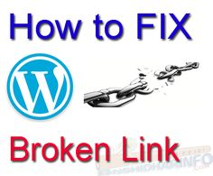 Links that do not exist or show an error, Such as 404 not found error, are called broken links learn What is broken link and fix Broken Link in WordPress?