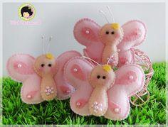 Mariposas de Fieltro (1)