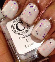 Polish Obsession: @Carolina Krupinska Garcia  Concrete Glamour #indiepolish #coloresdecarol