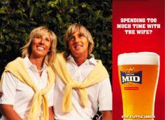 Carlton Mid 'Blondes' by Clemenger BBDO Melbourne