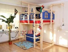 Bildergebnis Für Kinderzimmer Hochbett
