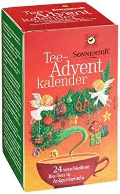 Tea Sonnentor advent calendar 24 bag