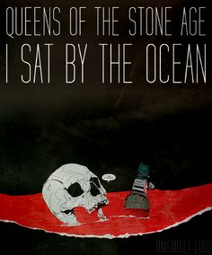 Boneface 2013 Queens Of The Stone Age - I Sat By The Ocean [...Like Clockwork] #comics