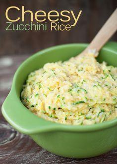 Cheesy Zucchini Rice