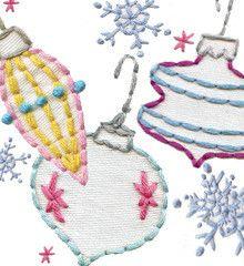 WINTERLAND - Embroidery Patterns