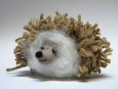 Hedgehog-Needle felted animal