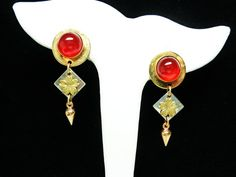 New Listings Daily - Follow Us for UpDates - Spring Cleaning Sale! BOHO Does Cottage Chic Earrings - Petite Round Clip Ons with Dangling Goldtone Flowers and Cone - Modern Pre 1997 offered by #TheJewelSeeker on Etsy  S... #vintage #jewelry #teamlove #etsyretwt #ecochic #thejewelseeker