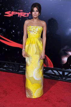 Eva Mendes' Flawless Retro Flair | stylebistro.com