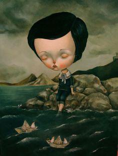 untitled by dilka bear, via Behance