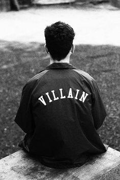 Villain. Type on Garments. Like.