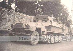 Sdkfz 251 ausf. A. Command vehiecle.